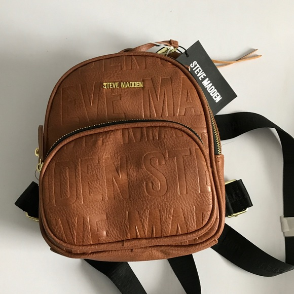 8dab08c52c Steve Madden Bags | Mini Brown Backpack | Poshmark